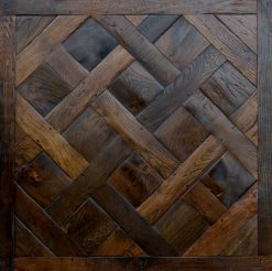 Withypool - Antique Reclaimed Versailles Panels Wood Floors available from Original Oak Flooring