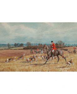 Essex Hunt Watercolour