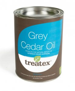Treatex Grey Cedar Oil Exterior Finish