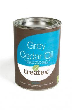 Treatex Grey Cedar Oil Exterior Finish