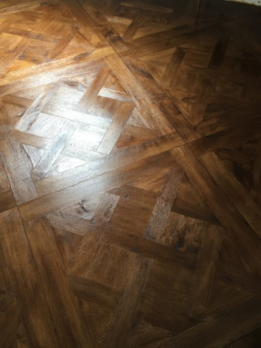 Parquet de Versailles Engineered Oak Panels with a Bespoke Finish