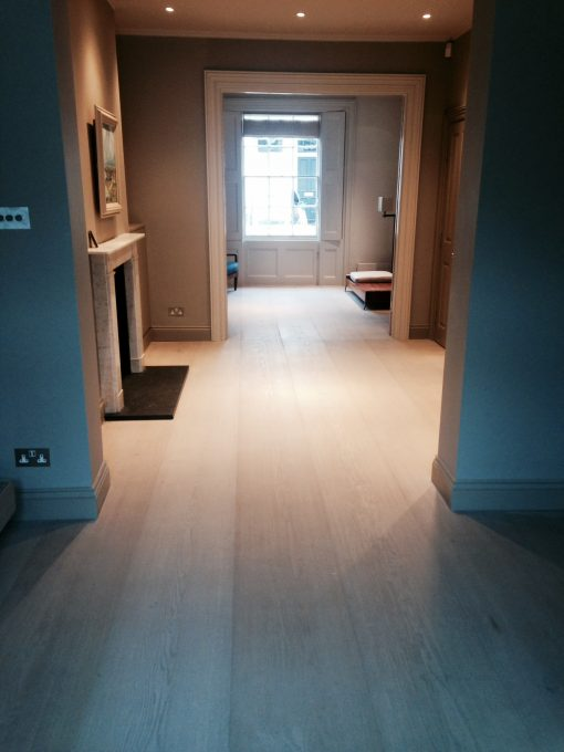 Fine Bespoke Oak Wood Flooring Project - London