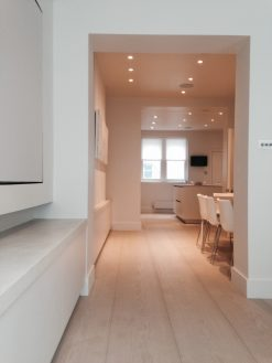 Fine Bespoke Wood Flooring Project - London from Original Oak Flooring in Wiltshire.