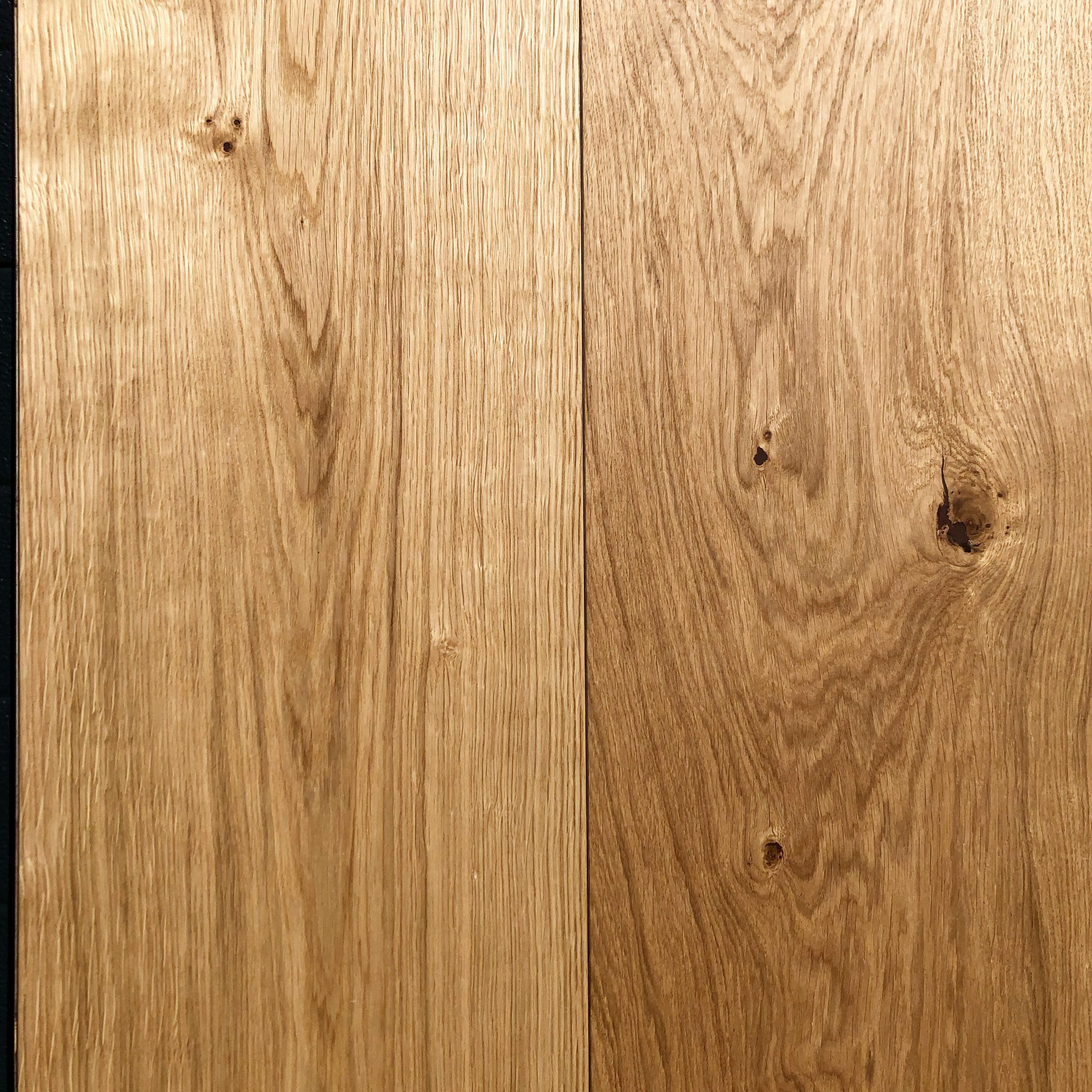 Fine 300mm Wide Engineered Oak Wood