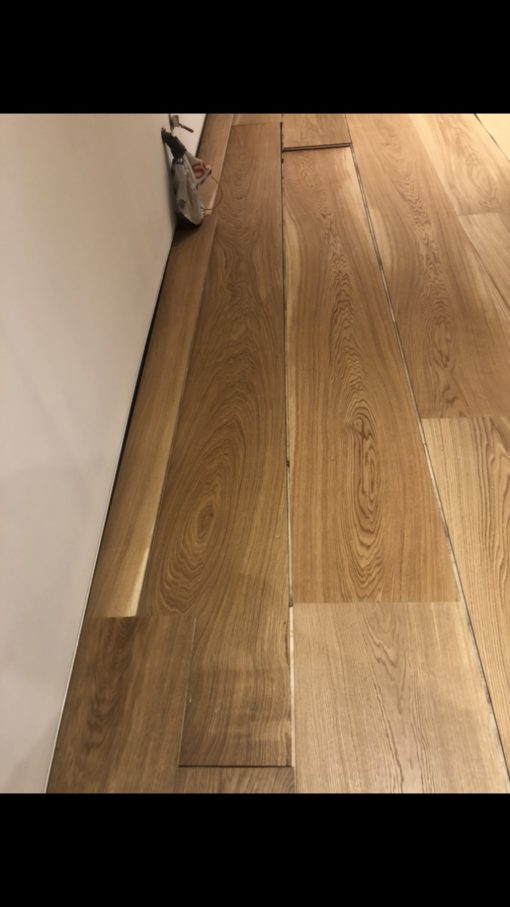 300mm Wide Engineered Oak Flooring Planks from Original Oak Flooring in Wiltshire. Nationwide Delivery Service.