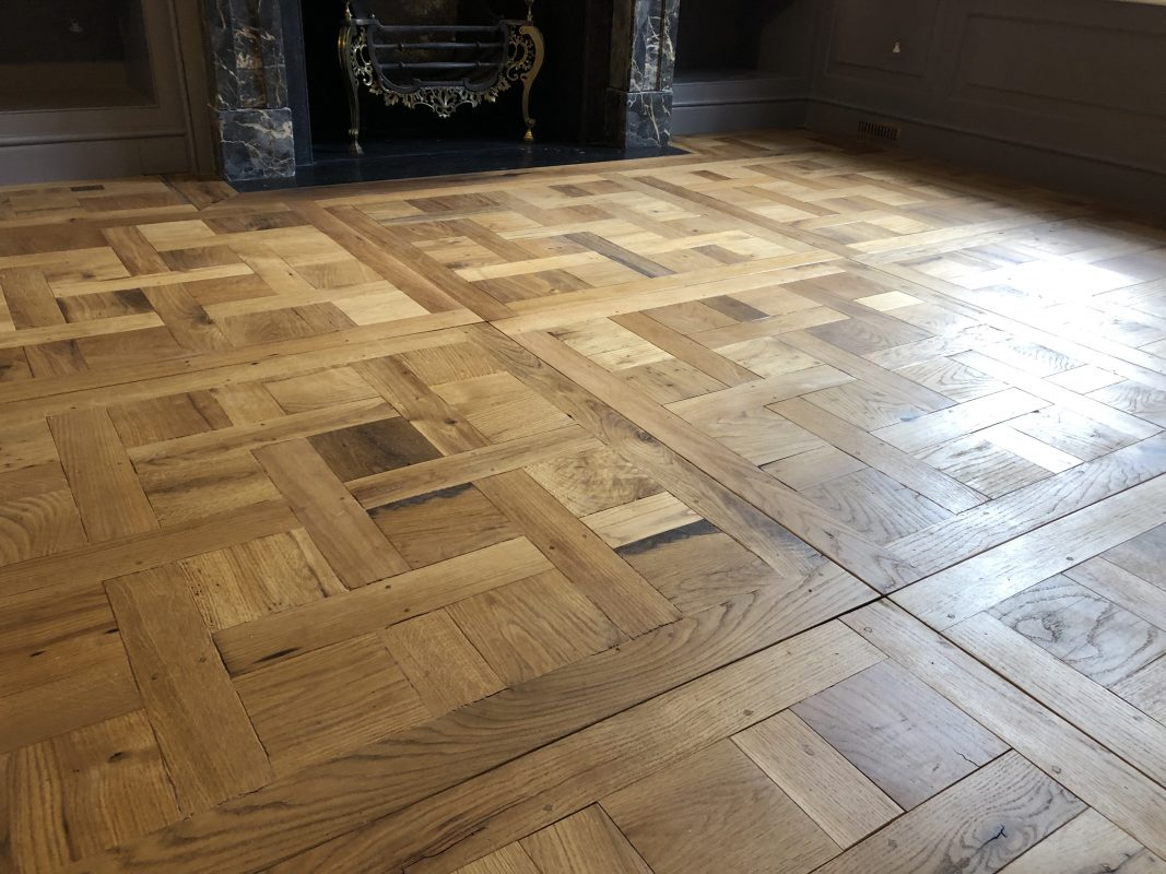 Charlecotes Original Oak Flooring Fine Bespoke Chantilly Panel Wood Floors
