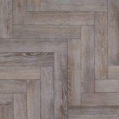 Bespoke Washed Weathered Engineered Oak Herringbone Parquet Blocks