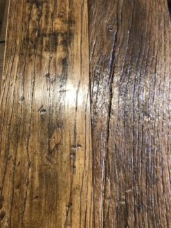 Bespoke Original Antique Reclaimed Engineered Elm Wood Plank Flooring