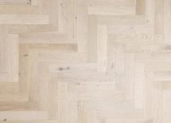 Bespoke Engineered Oak Herringbone Parquet - Aged - Villes herringbone (TT)