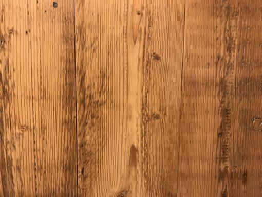 Bespoke engineered antique reclaimed pine wood flooring