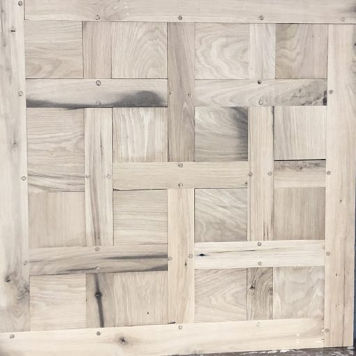 Original Antique Reclaimed Solid or Engineered Oak Chantilly Panels