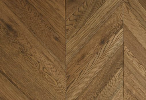 Engineered Oak Chevron Wood Floors - Husk-P.IM.TF EH