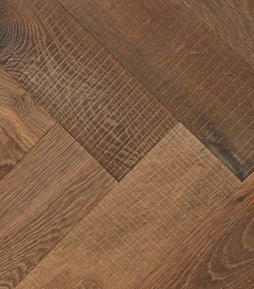 Engineered Oak Herringbone Parquet-Champagney-aged-detail EH