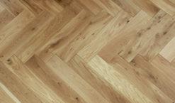 Engineered Oak Herringbone Parquet Wood Floors - Brampton-P.GL.EF (EH)