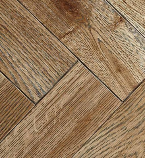 Engineered Oak Herringbone Parquet wood Flooring detail -Parkhurst-CAEU (TT)