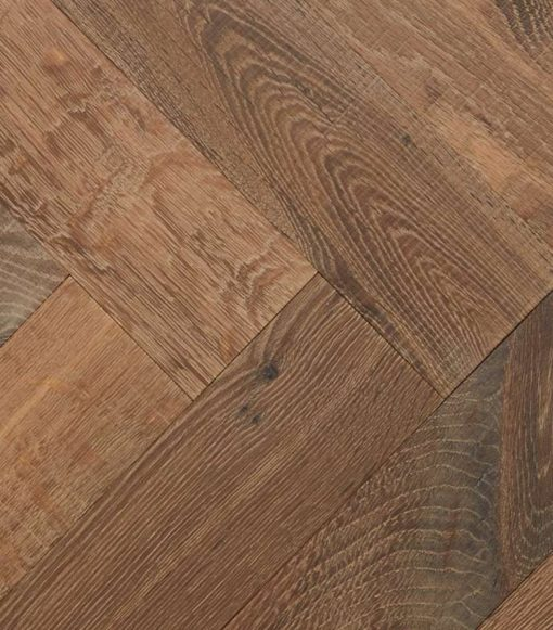 Engineered Oak Herringbone Parquet wood Floors -Champagney-detail TT