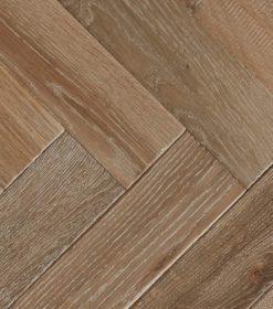 Engineered Oak Herringbone Wood Floors - Furrow-P.LI.IE (TT)