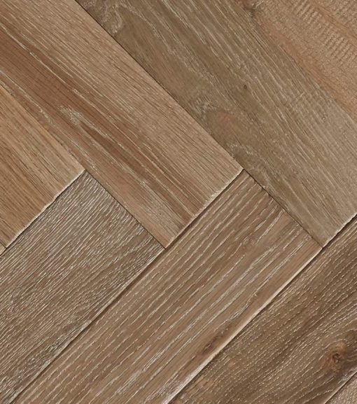Engineered Oak Herringbone Wood Floors - Furrow-P.LI.IE (TT)