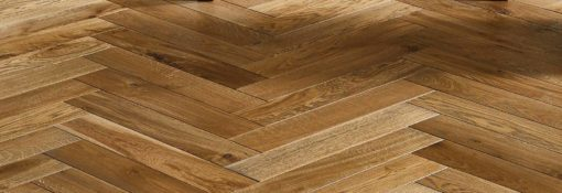Engineered Oak Herringbone Parquet Wood Floors - Parkhurst (TT)