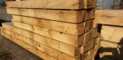 Oak Gate Posts