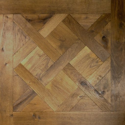 Versailles Panels Engineered Oak Flooring Character Grade-Hand Aged-Brushed & Slightly Undulating Face800mm x800mmx 20mmSW NO-Port