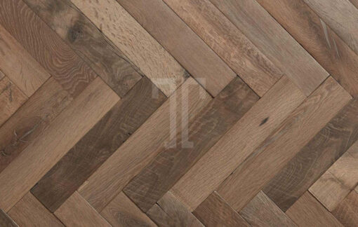 Fine Engineered Oak Chevron Parquet Wood Floors antique reclaimed Dampier-herringbone