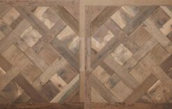 Fine Engineered Chantilly Parquet Wood Floors - Antique Reclaimed Dampier-PDV