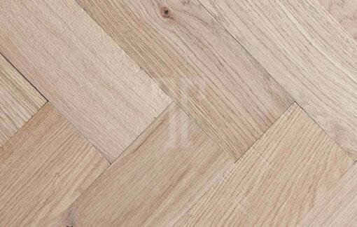 Fine Engineered Oak Herringbone Parquet Wood Floors Chevry Natural Herringbone