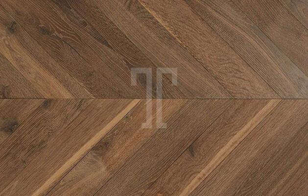 Engineered Oak Chevron Parquet Wood Floors Hand Aged PDQCH03-Champagney-chevron