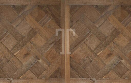Engineered Oak Versailles Parquet Wood Floors Hand Aged PDQCH03-Champagney-Versailles