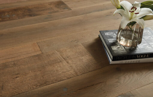Fine Engineered Oak Plank antique reclaimed dampier-plank-cameo