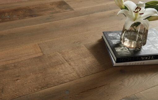 Fine Engineered Oak Plank antique reclaimed dampier-plank-cameo