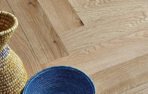 Fine Engineered Oak Herringbone Parquet Wood Floors - sugarcane-herringbone-cameo